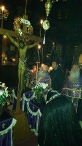Aκολουθία των Αγίων Παθών την Μεγάλη Πέμπτη στον Ιερό Μητροπολιτικό Ναό της Ευαγγελιστρίας Γρεβενών (φωτογραφίες)