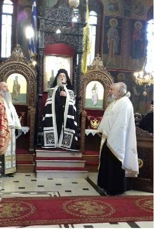 Κατανυκτικός Εσπερινός της Ε' Κυριακής των Νηστειών, στον Ιερό Μητροπολιτικό Ναό Ευαγγελιστρίας Γρεβενών (φωτογραφίες)