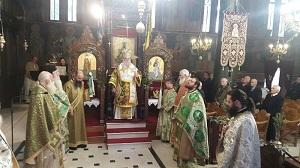 Φωτογραφίες από την Κυριακή των Βαΐων στον Ιερό Μητροπολιτικό Ναό της Ευαγγελιστρίας Γρεβενών και το Σάββατο του Λαζάρου στο Μικρολίβαδο