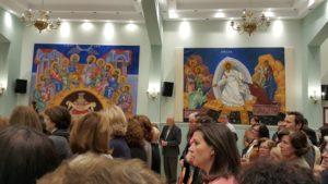 Φωτογραφίες από την Έκθεση Αγιογραφίας στο Πνευματικό Κέντρο της Ιεράς Μητροπόλεως στην Ευαγγελίστρια