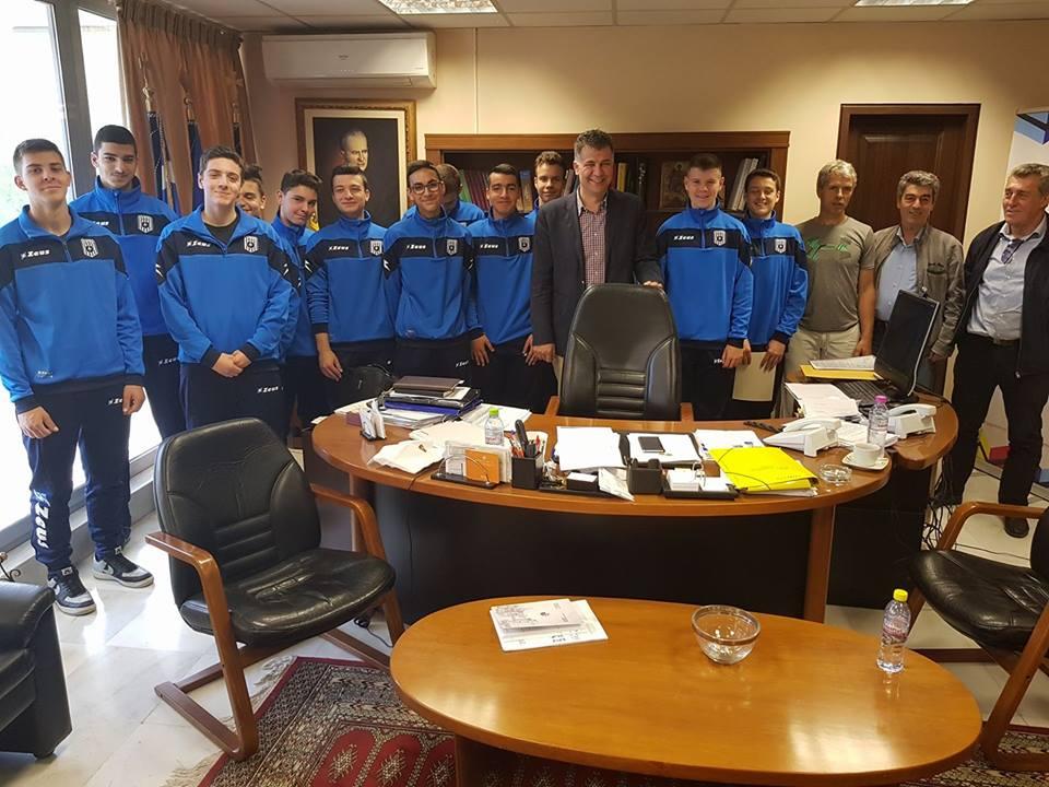 Βαγγέλης Σημανδράκος: ΄΄Συγχαρητήρια στα παιδιά, στον προπονητή και στην Διοίκηση του ΚΕΡΑΥΝΟΥ ΑΓΙΟΥ ΓΕΩΡΓΙΟΥ