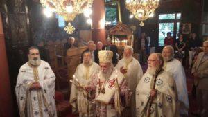 Πανηγυρική Θεία Λειτουργία για την εορτή της Αγίας Μεγαλομάρτυρος Μαρίνης στο Δίπορο Γρεβενών(φωτογραφίες)