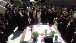 Τελέστηκε το τριετές μνημόσυνο υπέρ αναπαύσεως της ψυχής του Μακαριστού Μητροπολίτου Γρεβενών κυρού Σεργίου(φωτογραφίες)
