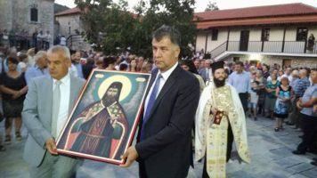 Ο Ε.Σημανδράκος και ο Χ.Μπγιάλας στις θρησκευτικές εκδηλώσεις προς τιμήν του Οσίου Νικάνορος στην Ι.Μ. Νικάνορος Ζάβορδας(φωτογραφίες)