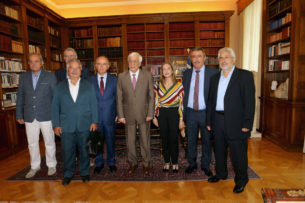 Συνάντηση του Συντονιστή Αποκεντρωμένης Διοίκησης Ηπείρου-Δυτ. Μακεδονίας με τον Πρόεδρο της Δημοκρατίας