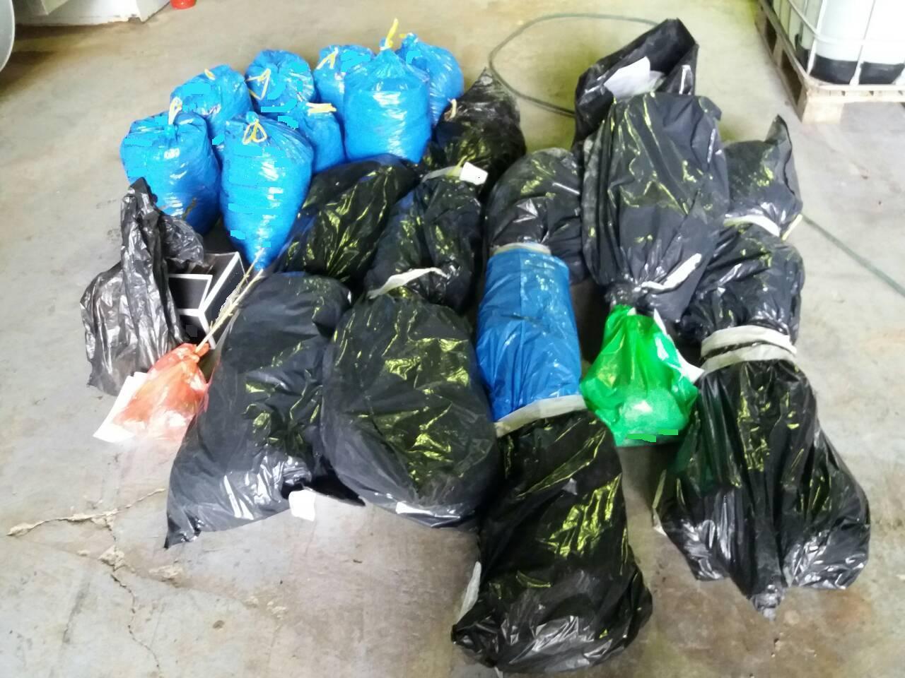 Καταστράφηκαν σε υψικάμινο εργοστασίου περιοχής των Γρεβενών ποσότητες ναρκωτικών ουσιών (Φωτογραφία)