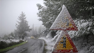 Χιόνια το Σαββατοκύριακο στην Δυτική Μακεδονία