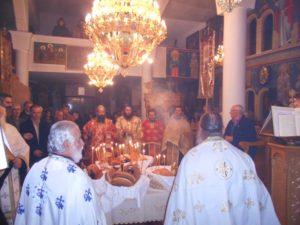 Εσπερινός εορτής Παμμεγίστων Ταξιαρχών στο Χρώμιο Γρεβενών (φωτογραφίες)
