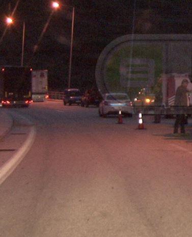Διακοπή κυκλοφορίας στην Εγνατία οδό στον κόμβο του Ταξιάρχη