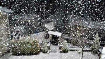 Επιδείνωση του καιρού με χιόνια στα ορεινά της Δυτικής Μακεδονίας από αύριο Παρασκευή.Η πρόβλεψη της ΕΜΥ