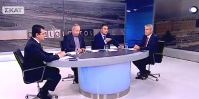 Ο Χρήστος Μπγιάλας στην εκπομπή «Αταίριαστοι» του ΣΚΑΪ (βίντεο)