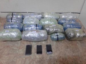 Συνελήφθησαν 3 αλλοδαποί σε περιοχή της Φλώρινας για εισαγωγή, μεταφορά και κατοχή 16 κιλών και 411 γραμμαρίων ακατέργαστης κάνναβης
