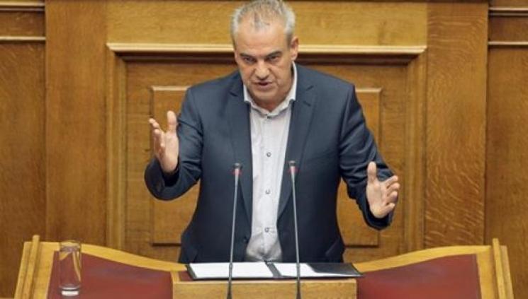 Ο βουλευτής Γρεβενών Χρήστος Μπγιάλας στο προεδρείο της Επιτροπής Οικονομικών της Βουλής