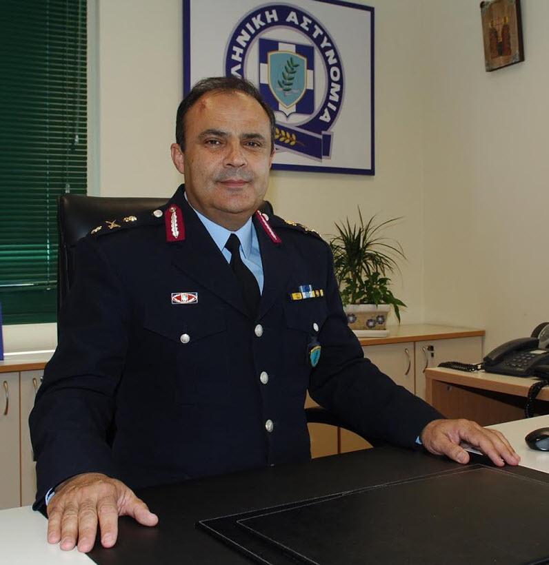 Αποχαιρετιστήρια Επιστολή Γενικού Περιφερειακού Αστυνομικού Διευθυντή Δυτικής Μακεδονίας Υποστρατήγου ΝΤΖΙΟΒΑΡΑ Παναγιώτη