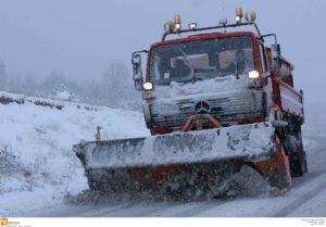 Χιόνια στα ορεινά, βροχή στην πόλη των Γρεβενών και η θερμοκρασία στους 10 βαθμούς