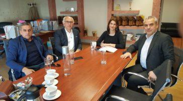 Συνάντηση του βουλευτή Γρεβενών Χ. Μπγιάλα και του δημάρχου Δεσκάτης Δ. Καραστέργιου