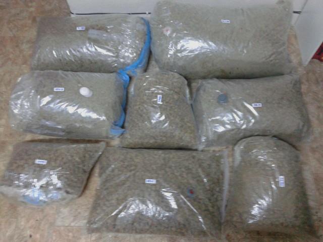Σύλληψη 47χρονου  για μεταφορά και κατοχή μεγάλης ποσότητας ακατέργαστης κάνναβης, βάρους -54- κιλών και -463- γραμμαρίων σε περιοχή της Καστοριάς (Φωτογραφίες)