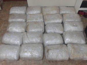 Συνελήφθη 26χρονος αλλοδαπός για διακίνηση μεγάλης ποσότητας ακατέργαστης κάνναβης, βάρους -104- κιλών και -846- γραμμαρίων, στην Κρυσταλλοπηγή Φλώρινας