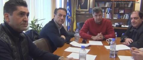 Σύσκεψη με την εταιρεία ΤΟΥΡΙΣΜΟΣ στο γραφείο του Αντ/ρχη Γρεβενών (Βίντεο)
