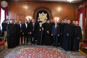 Γραφείο Τύπου Οικουμενικού Πατριαρχείου: Ο Οικουμενικός Πατριάρχης απευθυνόμενος σε σπουδαστές Θεολογικού Σεμιναρίου των Σκοπίων: Η Μητέρα Εκκλησία όλων των βαλκανικών λαών είναι η Κωνσταντινούπολη