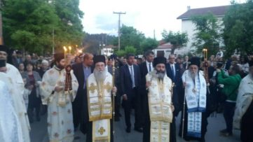 Λαμπρός Εορτασμός του Πολιούχου των Γρεβενών, Αγίου Αχιλλίου (φωτογραφίες)