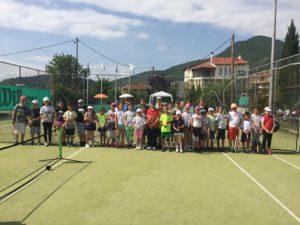Η προπαιδική ομάδα Αντισφαίρισης Γρεβενών στο 9ο Ενωσιακό Προπαιδικό Ομαδικό Πρωτάθλημα Τένις