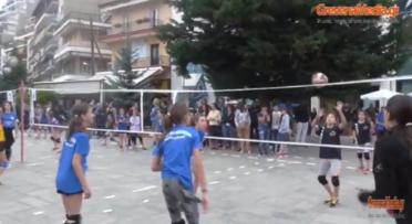 Αγώνες mini volleyτην Κυριακή στην κεντρική πλατεία Γρεβενών διοργανώνει ο Γυμναστικός Σύλλογος Γρεβενών