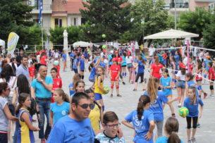 Γυμναστικός Σύλλογος Γρεβενών- τουρνουά mini volley (φωτογραφίες)
