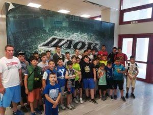 Στο PAOK Sports Arena βρέθηκαν οι ακαδημίες του Φ.Ο.ΠΡΩΤΕΑ ΓΡΕΒΕΝΩΝ
