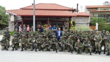 Πάνοπλοι «ράμπο» του ελληνικού στρατού σε ασκήσεις κοντά στη μεθόριο Ελλάδας-ΠΓΔΜ