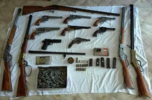 Συνελήφθη 47χρονος ημεδαπός  στα Γρεβενά για παράβαση του νόμου περί όπλων