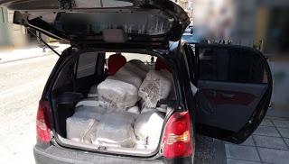 Αστυνομικοί της Καστοριάς, συνέλαβαν πατέρα και κόρη, να μεταφέρουν Ναρκωτικά σε τσουβάλια