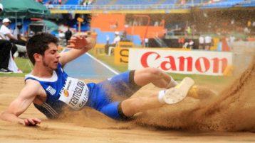 «Πέταξε» στα 8.25 μ. και κατέκτησε το χρυσό μετάλλιο ο Γρεβενιώτης Μίλτος Τεντόγλου