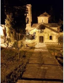 Ιερά  Αγρυπνία στην Παναγία του Σπηλαίου