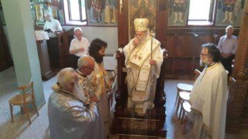 Σάββατο 21 και Κυριακή 22 Ιουλίου λειτούργησε ο Σεβασμιώτατος Μητροπολίτης Γρεβενών κ. Δαβίδ  στο Πρόσβορο και το Πολυνέρι Γρεβενών