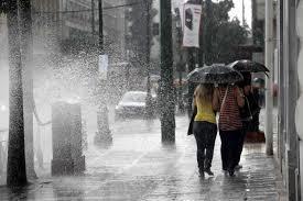 Ξαφνική επιδείνωση του καιρού -Με καταιγίδες, χαλάζι και θυελλώδεις ανέμους