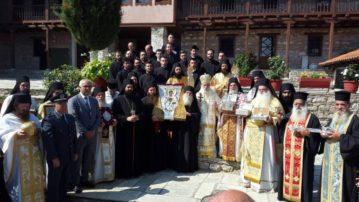 Πανήγυρις στην Ιερά Μονή Οσίου Νικάνορα Ζάβορδας (Φωτογραφίες)