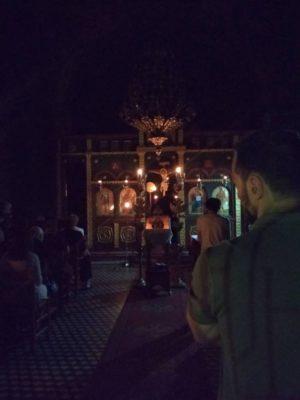 Αγρυπνία Οσίου Νικάνορος στον Άγιο Αχίλλιο Γρεβενών