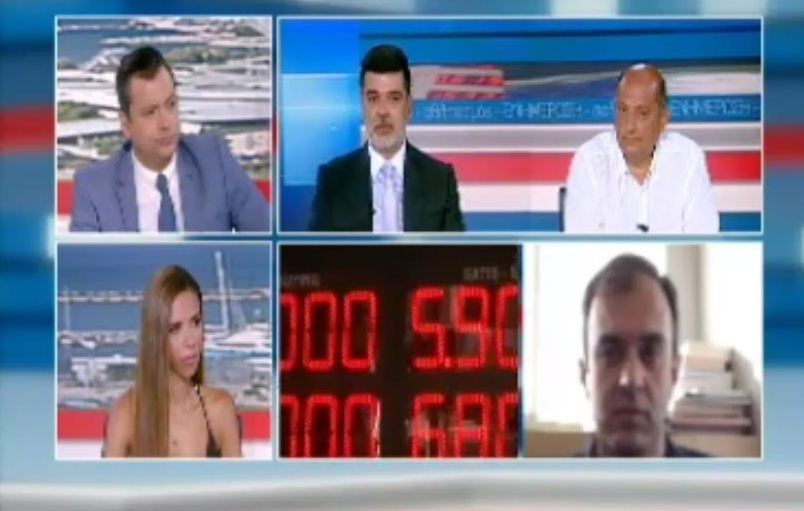 Ανδρέας Πάτσης στον ΣΚΑΪ: «Έντονες ανησυχίες για τις ελληνικές εξαγωγές και τον τουρισμό δημιουργεί η κρίση στην Τουρκία»