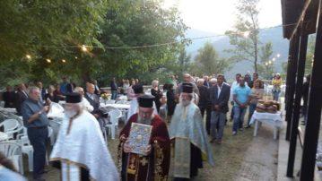 Εορτή της Υψώσεως του Τιμίου Σταυρού στο Μαχαλά και το Μέγαρο Γρεβενών