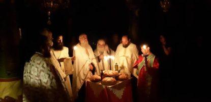 Αγρυπνία Αγίου Μεγαλομάρτυρος Ευσταθίου στην Αγία Παρασκευή Γρεβενών (Φωτογραφίες)