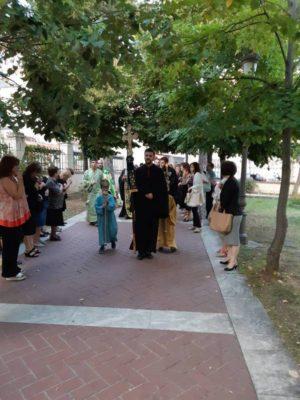 Εορτασμός της Υψώσεως του Τιμίου Σταυρού στην Ευαγγελίστρια Γρεβενών