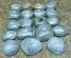 Φλώρινα: Συνελήφθησαν 2 άτομα για διακίνηση ποσότητας ακατέργαστης κάνναβης