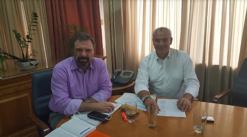 Συνάντηση στο Υπουργείο Αγροτικής Ανάπτυξης & Τροφίμων είχε ο Βουλευτής ΣΥΡΙΖΑ Γρεβενών, κ. Χρήστος Μπγιάλας, με τον Υπουργό, κ. Σταύρο Αραχωβίτη, την Πέμπτη 01/11/2018.