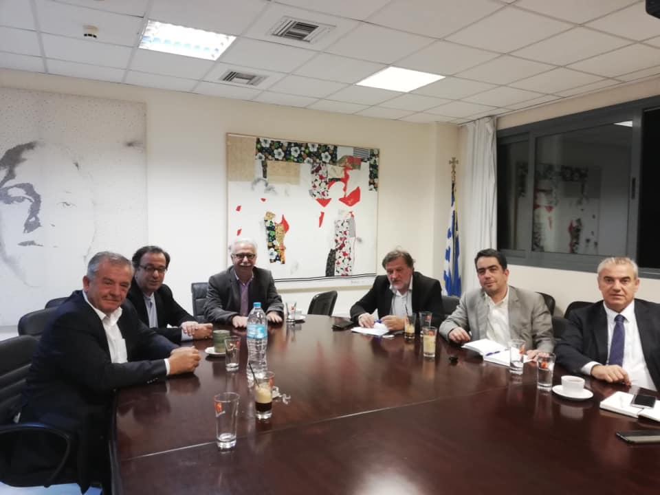 Συνάντηση των βουλευτών Δυτικής Μακεδονίας με τον Υπουργό Παιδείας