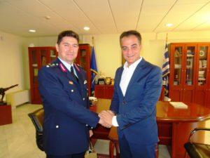 Επίσκεψη του νέου Γενικού Περιφερειακού Αστυνομικού Διευθυντή  Δυτικής Μακεδονίας στον Περιφερειάρχη Θ. Καρυπίδη