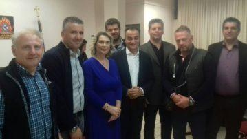 Συνάντηση ενώσεων αστυνομικών Δυτικής Μακεδονίας με την Υφυπουργό Προστασίας του Πολίτη