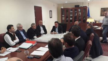 Υλοποιούνται σημαντικά έργα στο οδικό δίκτυο της Δυτικής Μακεδονίας- Σύσκεψη στην Περιφέρεια  με την Εγνατία Οδό Α.Ε.