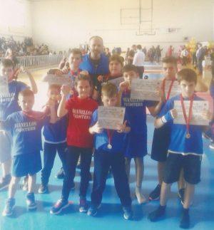 Junior Kick Boxing DIANELLOS GYM: Νέες επιτυχίες στην πυγμαχία