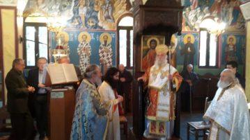 Θεία Λειτουργία στην Κυρακαλή Γρεβενών